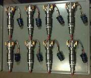 07 Ford 6.0l Powerstroke 100 Hp Performance Injector Set Reman 609-432-1070