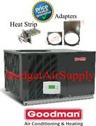 3 Ton 14 Seer Goodman A/c/electric Heatall In One Packageunit Gpc1436h41+heat