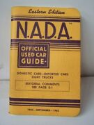 Old Vintage 1982 82 Nada Official Used Car Guide Price Book
