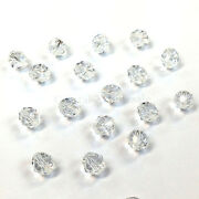 Crystal 001 Clear Elements 5000 Crystal Round Beads 4mm 6mm 8mm