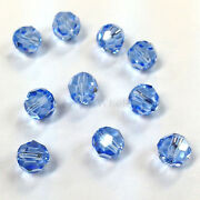 Light Sapphire 211 Elements 5000 Crystal Round Beads 4mm 6mm 8mm
