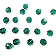 Emerald 205 Elements 5000 Crystal Round Beads 4mm 6mm 8mm