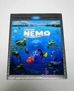 Authentic Pixar Finding Nemo 3d Blu-ray Dvd And Digital Copy Code No Slipcover