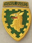 Rare Honor Guard Gold On Green German Made Tab Ce As Made 44th In P Bde Me