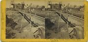 Thomas Houseworth And Co. Stereoview 1014 1870s Mining Out A Ranch California