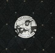 Circa 1980's Ted Williams Boston Red Sox Reproduction Pin-nm