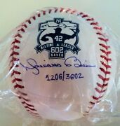 Mariano Rivera Signed All Time Saves Record Limited Edition Ball - Steiner Coa