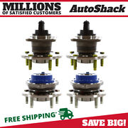 Front And Rear Wheel Hub Bearing Assembly Set Of 4 For Buick Lesabre Lucerne V8