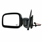 Fits 02-07 Liberty Left Driver Mirror Power Texture With Heat No Memory/auto Dim