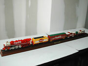 Coca-cola Locomotive + 4 Wagons The Franklin Mint 1999 Neuf Dans Son Emballage
