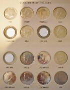 Kennedy Silver Half Dollar Partial Uncirculated Proof Set 90 Silver Coins