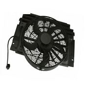 Bmw E53 X5 3.0i 4.4i 4.6is 4.8is Behr Oem Auxiliary Fan Assembly And Shroud