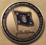 21st Secretary Of The Air Force Michael W. Wynne Military Challenge Coin