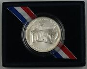 1991 Uso Commemorative Uncirculated Unc Silver Dollar 1 Coin As Issued Dgh