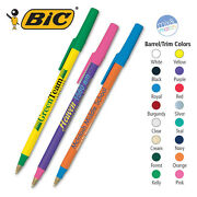 Bic Round Stic Ball Pens - 500 Quantity - Custom Printed With Your Logo