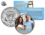 Royal Baby George Of Cambridge William And Kate Jfk Half Dollar Coin