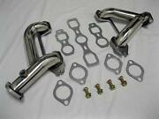 1937-1962 Chevy 6 Cylinder Car Truck Stainless Headers 216-235-261 Split Exhaust
