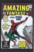 Amazing Fantasy 15 Rare 2nd Printing Cover Giveaway Promo Variant 1st Spiderman