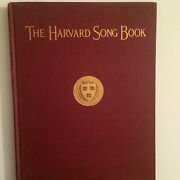 Antique Collecters Item 1923 Harvard University Glee Club Song Book Hard Cover