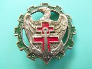 Scarce French Army Badge 61st Road Traffic Saigon Vietnam Indochina Locally Made