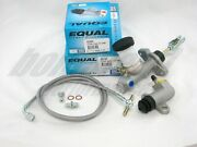 Exedy Slave Master Cylinder And Stainless Clutch Line For 1991-1998 Nissan 240sx