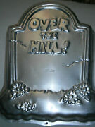 1995 Wilton 2105-1237 Over The Hill Tombstone Old Birthday Cake Party Pan Mold
