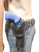 New Barsony Black Leather Western Style Gun Holster For Colt 4 Revolvers