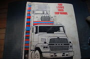 Ford L-series Truck Engine Troubleshooting Repair Service Manual 1985 1986 Owner