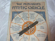 Aetna Car Insurance Adv. Antique Mystic Oracle Unusual Question Answer 1924