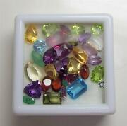 25+ Carats Of Mixed Loose Faceted Semi-precious Gemstones For Jewelry Lot2-6
