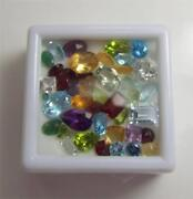 25+ Carats Of Mixed Loose Faceted Semi-precious Gemstones For Jewelry Lot2-26