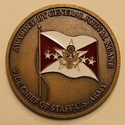 General John M. Jack Keane Vice Chief Of Staff Us Army Challenge Coin