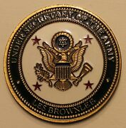Les Brownlee Under Secretary Of The Army Challenge Coin