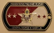 Chief Of Staff General George W Casey Jr. Army Challenge Coin