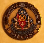 168th Brigade Support Battalion Oif 07-09 Army Challenge Coin