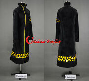 One Piece Trafalgar Law Coat 2 Years Later Cosplay Costume - Thick Version