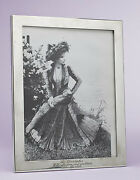 Barbra Streisand Gifted Sterling Silver Picture Frame
