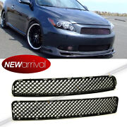 For Scion Tc 05 -10 Upper Lower Badgeless Abs Black Jdm Vip Mesh Grill Grille