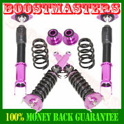 Purple Coilover Suspension Kits For 2008-11 G37 Coupe Sedan Rwd Only 12 F/10