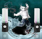 Led Dancing Water Show Music Fountain Light Speakers For Computer Laptop Phone