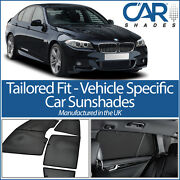 Bmw 5 Series 4dr 2010-16 Car Window Sun Shade Baby Seat Child Booster Blind Uv
