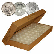 250 Direct-fit Airtight 38mm Coin Capsule Holders For Morgan Peace / Ike Dollars