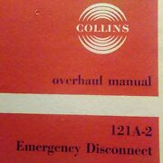 Collins 121a-2 Emergency Disconnect Overhaul Manual