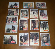 16 1967 Assorted Planet Of The Apes Trading Cards