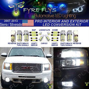 22 Piece Led Pro Package Super Bright 6000k Xenon White For Interior And Exterior