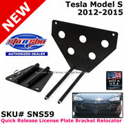 Sto N Sho Tesla S 12-16 Quick Release License Plate Mounting Relocator Sns59