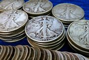 1/2 Oz 90 Silver U.s. Coin Lot Pre-1965 Bullion Coins See Free Coin Offer