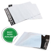 Premium Quality White Strong Plastic Mailing Post Packaging Bag Peel And Seal