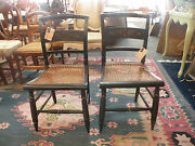 Chair -vintage Pair Of Hitchock Side Chairs