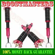For Red 92-01 Honda Prelude Full Coilover Suspension Lowering Kits 28ways Damper